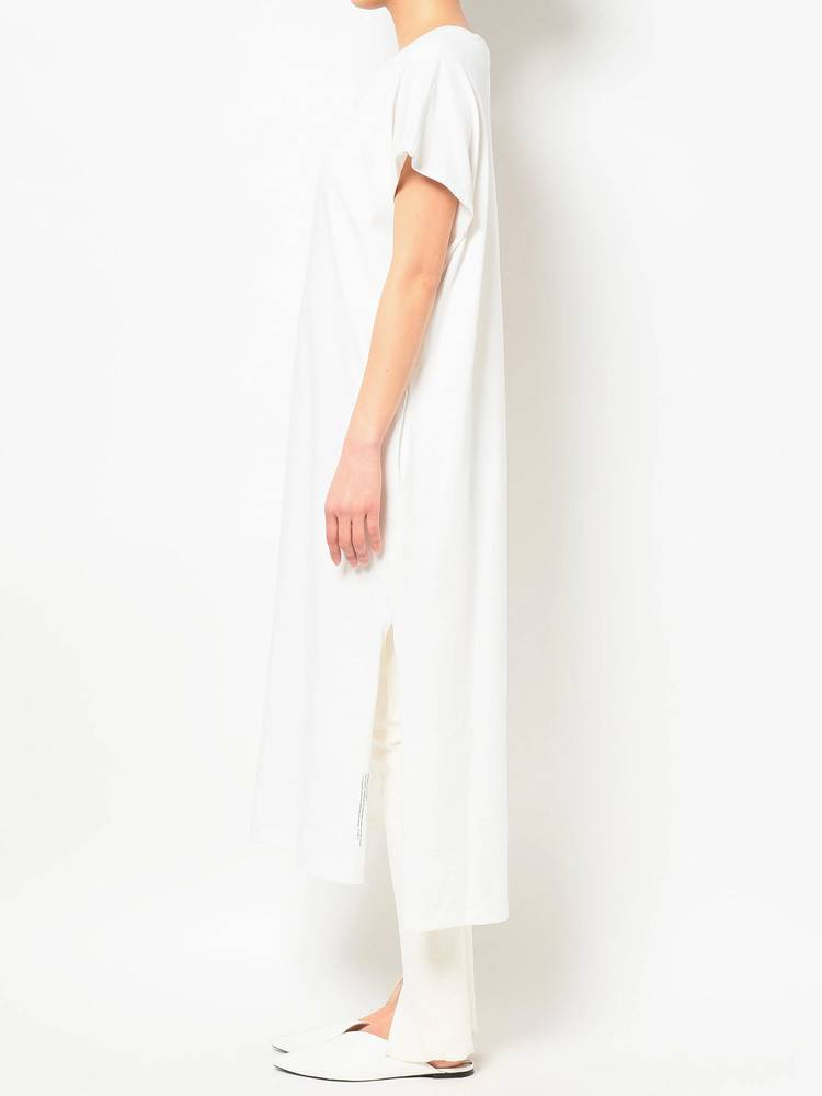 COTORICA WOMEN(コトリカ ウーマン) |DOUBLE COLLAR FREANCH SLEEVE T DRESS