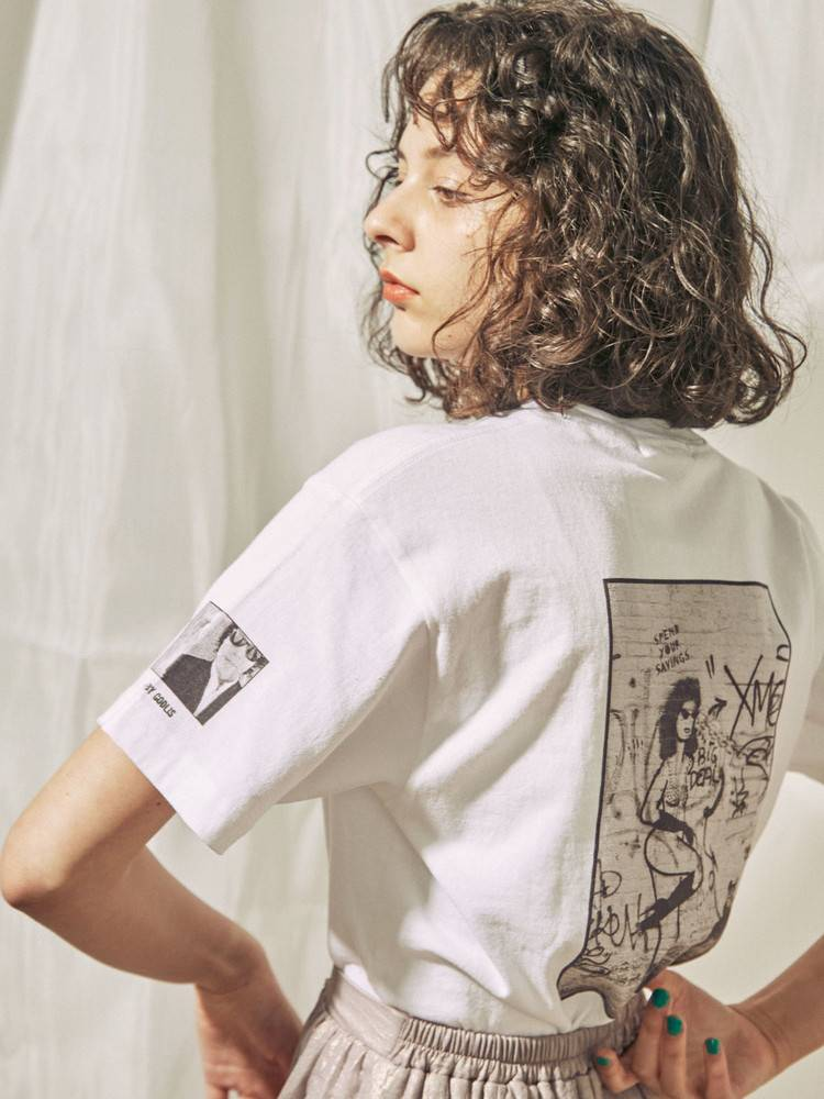 COTORICA WOMEN(コトリカ ウーマン) |GODLIS ART PAINT T