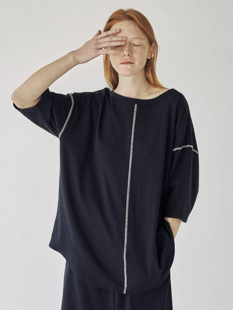 COTORICA WOMEN(コトリカ ウーマン) |COLOR STITCH PULLOVER 画像01